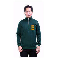 G-SHOP - MEN SWEATER JAKET HOODIES DISTRO PRIA - FHM 1464 - HIJAU SIZE- M