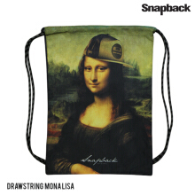 SNAPBACK Drawsting Backpack Monalisa