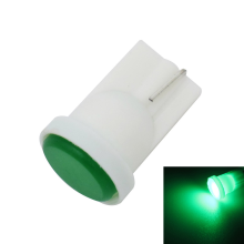 JMS - 1 Pair (2 Pcs) Lampu LED Senja T10 W5W 6 COB Ceramic LED Green