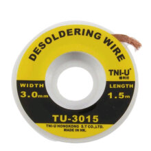 TNI-U Solder Wick ORIGINAL (suction wire) TU-3015