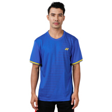 YONEX Men's Round Neck T-Shirt - Strong Blue