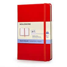 MOLESKINE Sketch Book P QP014RF - Red
