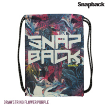 SNAPBACK Drawsting Backpack Floral