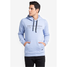 COTTONOLOGY Men's Hoodie Baby Blue