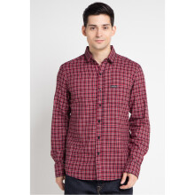 COTTONOLOGY Men's Shirt Glasgow Red