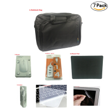 Jumper Computer accessories (7 pack),Bag,Mouse, Portable USB 2.0 4Ports,Mouse Pad,Headset,Keyboard cover,Screen film