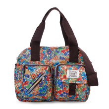 HUER Boston Tote Bag - Flower