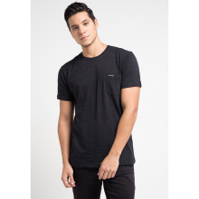 COTTONOLOGY Men's T-Shirt Napster Pocket Black