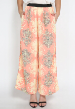 Mobile Power Ladies Cullotes Motif - Pink Peach L8410C Others All Size