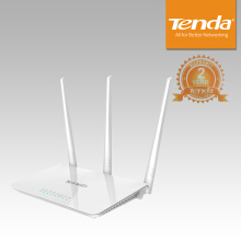 Tenda F3 300Mbps Easy Setup 30 Detik - White