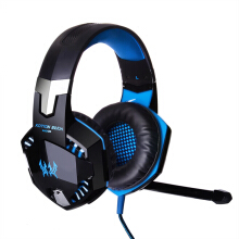Vinmori G2000 Gaming Headset Stereo Sound 2.2m Wired Headphone Noise Reduction Over-Ear Headband With Microphone For PC