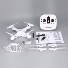 COZIME S28 RC Drone 2.4G Quadcopter 18min Long Flight Altitude Hold Headless 3D Flips White