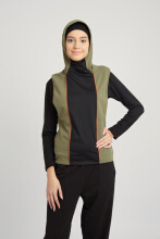CoreNation Active Hena Tank + Topi Hijab Green XL