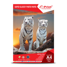 E-PRINT Glossy Photo Paper Alumunium Pack A4 230gsm 20 Sheets