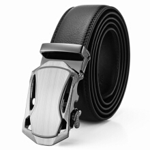 Prince Jeep imported fashion men's belt luxury business microfiber automatic buckle belt