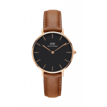 Daniel Wellington Classic Black Petite Durham 32mm Rose Gold