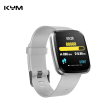 KYM V6 Smart Watch Bracelet waterproof Heart Rate Blood Pressure Fitness Tracker For Android IOS