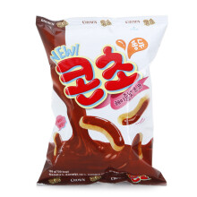 CROWN CORN CHO Corn Puff Chocolate Flavor