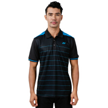 YONEX Men's Polo T-Shirt - Black/Cloisonne
