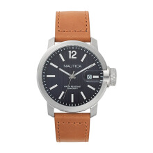 NAUTICA Watch Sydney Gent's Box Set Brown/Black [NAPSYD012]