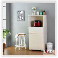 Lemari Dapur Sliding French Series - LIVIEN Furniture