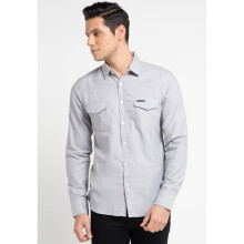 COTTONOLOGY Men's Shirt Monaco Light Grey