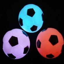 Farfi Football Shaped Color Changing LED Night Light Party Decor Lamp White