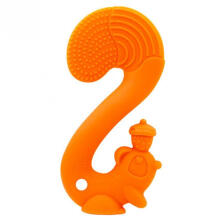 Mombella Squirrel Soothing Teether Orange