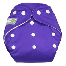 [free ongkir]Clodi Popok Kain Bayi Little Hippo Eco Cover - Color Purple
