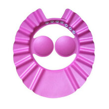 [OUTAD] Flexible EVA Children Adjustable Shower Cap Baby Care Bathing Protective Pink