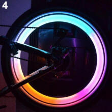 Farfi Safety Bright Bike Bicycle Cycling Car Wheel Tire Tyre LED Spoke Light Lamp