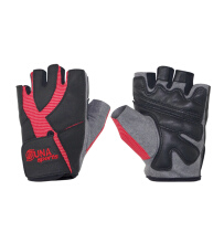 Zuna Sport Men Power Goat Skin Multifunction Gloves Half Finger