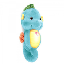 Fisher Price Snug & Glow Sea Horse - Blue
