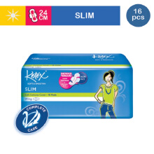 KOTEX Soft & Smooth Slim Wing - 16 S