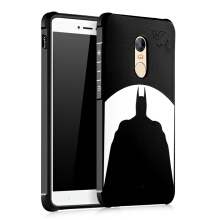 Xiaomi Redmi Note 4X Case 3D Embossed Full Covered Protective Matte Non-slip Soft Cover for Xiaomi Redmi Note 4X Global Version Black