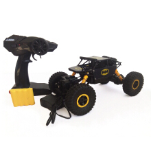 Mobil Remote Control Rock Crawler Hero Car Skala 1:18 Mainan Anak 699-89A Yellow Black