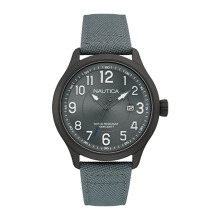 NAUTICA Watch NCC 01 Date Grey [NAI11514G]