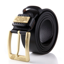 Prince Jeep imported fashion men's belt tide male alloy pin buckle cowboy belt
