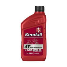 KENDALL 4T Semi Synthetic 4-Cycle JASO-MA SAE 10W-40 Motor Oil - 1 Liter