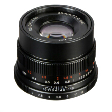 7artisans 35mm F2.0 For Fuji – Black Black