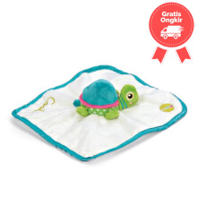 Oops My Doudou Friend Turtle Cookie Color White Green Age 0M+