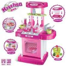 Baby Wang - Mainan Kitchen Set Koper - Mainan Masak Dapur
