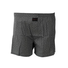 STYLEBASICS Men Woven Boxers (Single) - Abstract Print - Black