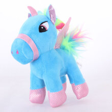 Jantens 15cm cute cartoon unicorn plush toy soft stuffed animal baby doll children toys