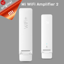Original Xiaomi WiFi repeater, WiFi Pro 300M amplifier, WiFi 2.4G signal extender, router, Wifi extender with control applicatio White