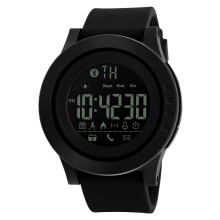 Skmei-1255 original waterproof calorie pedometer Bluetooth social remind remote control camera multi-purpose men's watch