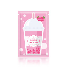 ANNIE'S WAY Strawberry Bubble Tea Invisible Silk Mask 5pc [125gr]