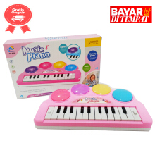 tomindo music piano 9056 pink