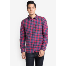 COTTONOLOGY Men's Shirt Norwich Red