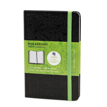 MOLESKINE Notebook EV.HC Ruled L QP060EVER - Black